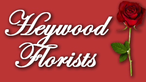 Heywood florists logo, click it to show the offer